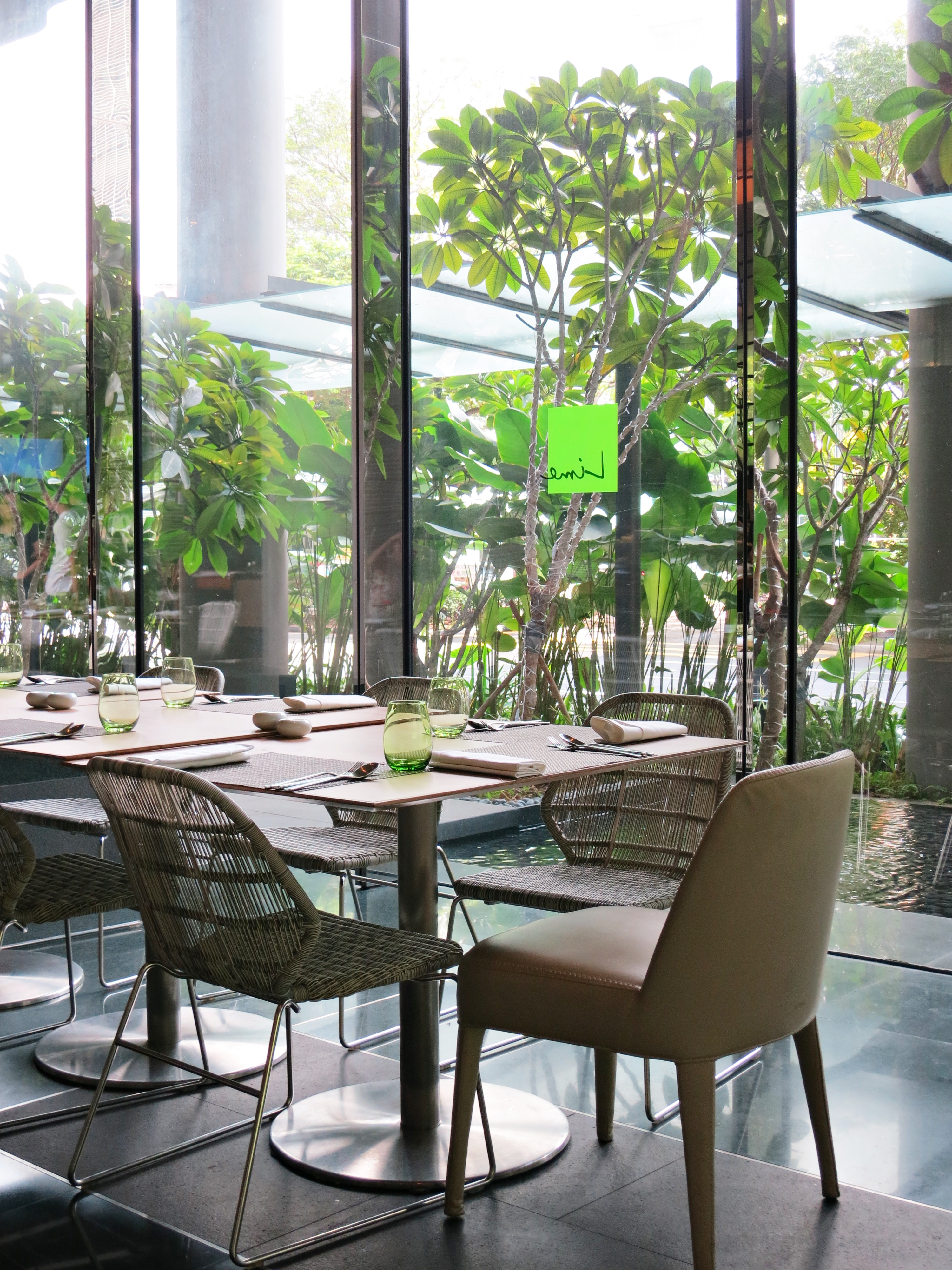 Look At All The Lovely Floor To Ceiling Windows Letting In Gorgeous Natural Lighting Also Setting Was Very Comfortable And Welcoming