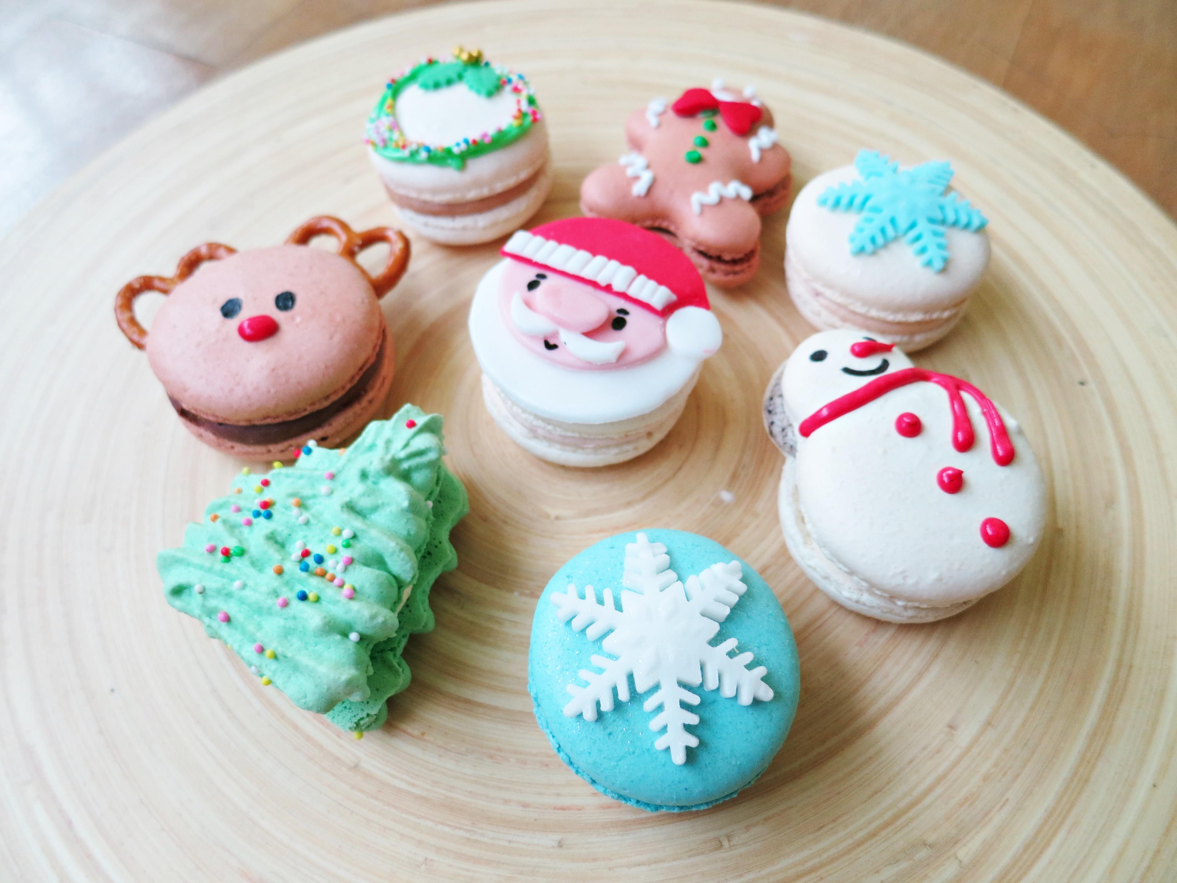 Christmas Macarons.Christmas Macarons Qiuuing